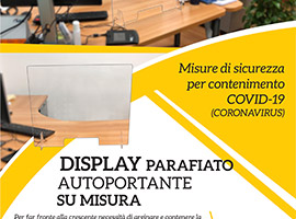 Display Parafiato anti Covid-19